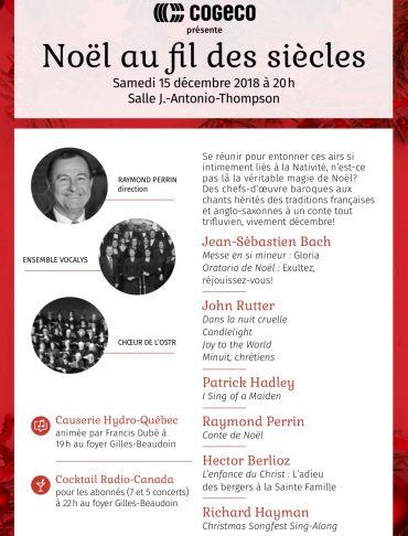 Concert de Noël avec L'Orchestre symphonique de Trois-Rivières - Direction: Raymond Perrin